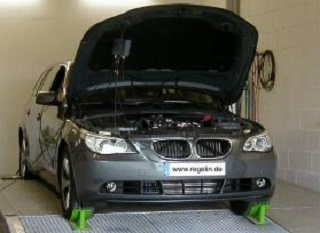 BMW 535d on Dyno-Bench