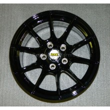 "15"" Set of Rims ATS DTC Touring Car Racing (8x15) - black"